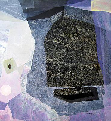 Cosmic Painting - Os1958ar008ba Abstract Landscape Of Potosi Bolivia 22 X 23.9 by Alfredo Da Silva