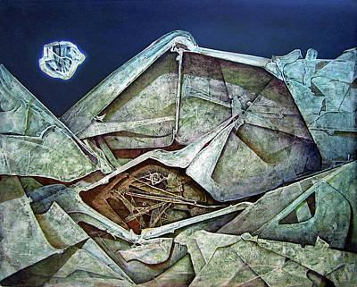Cosmic Painting - Os1974ny001 Sublime Moment 20x16 by Alfredo Da Silva