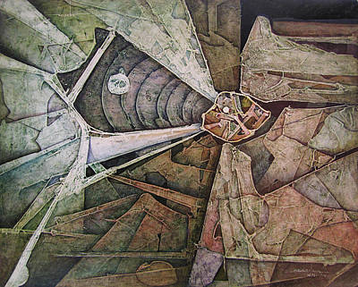 Cosmic Painting - Os1974ny003 Sinfonia Of The Light 20x16 by Alfredo Da Silva