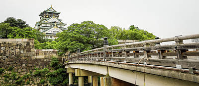 Photograph - Osaka Castle In Osaka, Japan by Hyuntae Kim