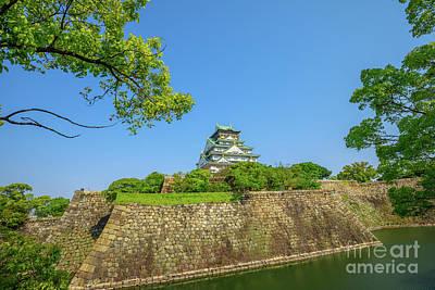 Photograph - Osaka Castle Japan by Benny Marty