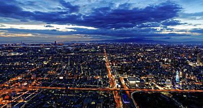 Photograph - Osaka by David Harding