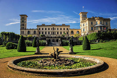 Garden Ornament Photograph - Osborne House by Martin Newman