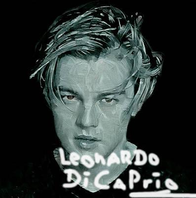 Oscar Goes To Leonardo Di Caprio Original by Felix Von Altersheim