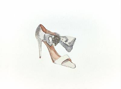 Fancy Shoes Painting - Oscar  by Lauri Serene