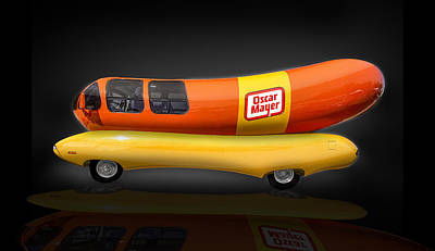 Oscar Mayer Wiener Mobile Art Print by Gary Warnimont