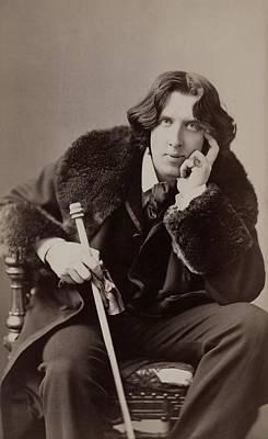 Auto Add Lbd Photograph - Oscar Wilde, 1854-1900 Irish Writer by Everett