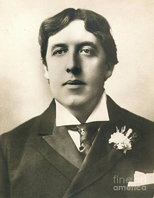 Oscar Wilde Print by Granger