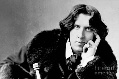 Photograph - Oscar Wilde by Reproductions