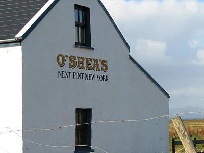 St Photograph - O'shea's by Kelly Mezzapelle