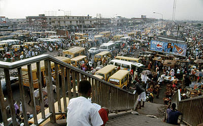 Photograph - Oshodi Transport Hub, Mainland  by Muyiwa OSIFUYE