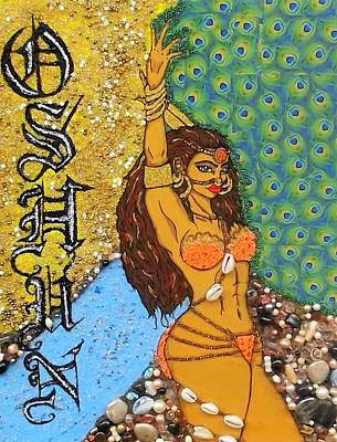 Orishas Painting - Oshun by Allison Aaron