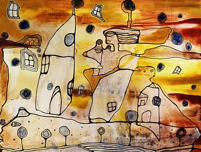 Oshun Wall Art - Painting - Oshun by Cristine Cambrea