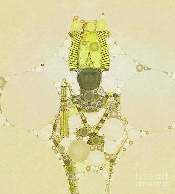Thoth Digital Art - Osiris, God Of Egypt By Mb by Mary Bassett