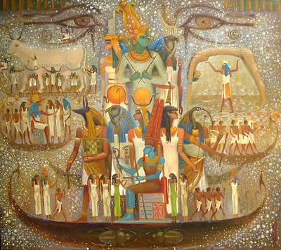 Painting - Osiris by Valentina Kondrashova