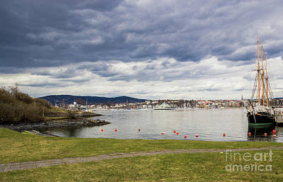 Photograph - Oslo From Bygdoy by Suzanne Luft