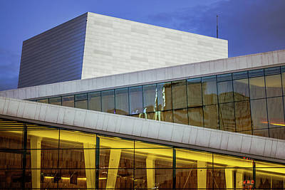 Oslo Opera House Detail Art Print