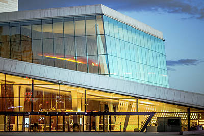 Oslo Opera House Entrance Art Print