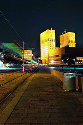 Photograph - Oslo Town Hall by Jean-Noel Nicolas