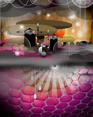Fox Digital Art - Osmos by Dear Earthling