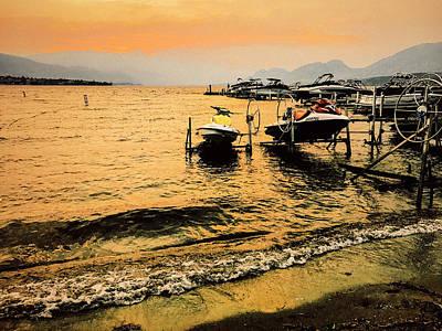 Photograph - Osoyoos Lake Okanagan British Columbia Canada Summer Twilight  by Amyn Nasser