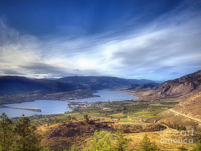 Okanagan Lake Photograph - Osoyoos Lake by Tara Turner