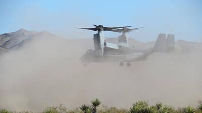Photograph - Osprey V-22 Landing by Kay Novy