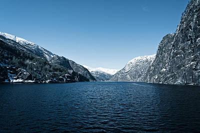 Photograph - Osterfjord, Norway by Jiri Vatka