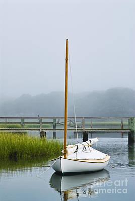 Cape Cod Massachusetts Photograph - Osterville Sailboat by John Greim