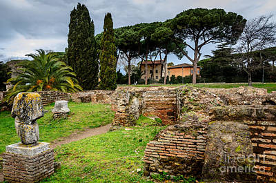 Photograph - Ostia Antica - A City Of Multiple Levels by Debra Martz