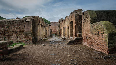 Photograph - Ostia Antica - House Of Diana by Debra Martz