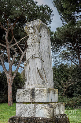 Photograph - Ostia Antica - Minerva As Victory by Debra Martz