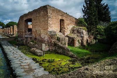 Photograph - Ostia Antica - Porta Marina by Debra Martz