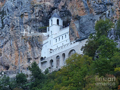 Photograph - Ostrog Monastery by Phil Banks
