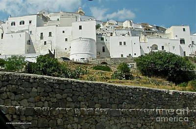 Photograph - Ostuni, Puglia by Italian Art
