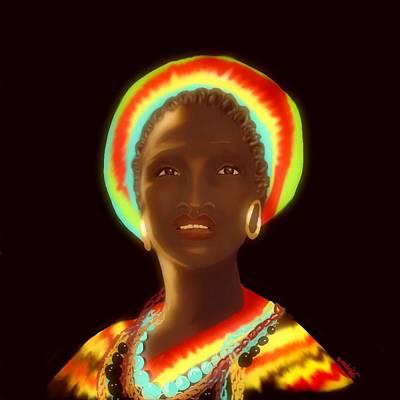 Digital Art - Osumare by Gerry Morgan