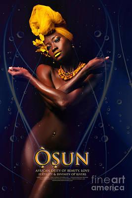 Osun Art Print by James C Lewis