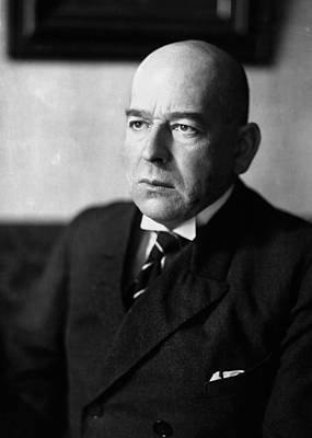 Oswald Photograph - Oswald Spengler (1880-1936) by Granger