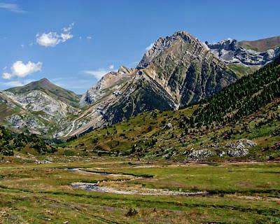Photograph - Otal Valley Scenic by Anthony Dezenzio