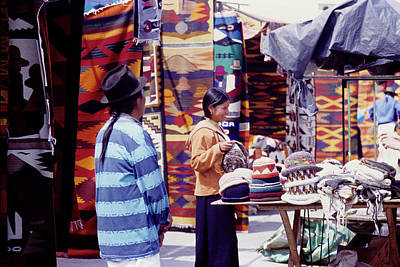Photograph - Otavalo Market by John Farley