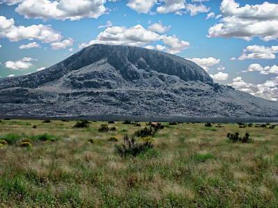 Photograph - Otero Mesa Landscape by Anthony Dezenzio