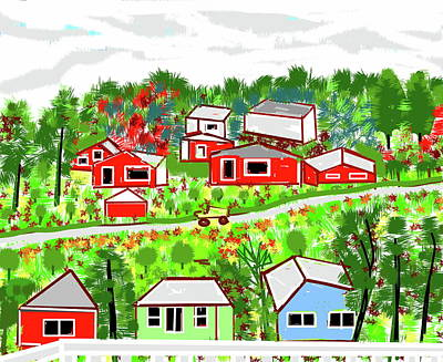 Digital Art - A Healthy Place by Anand Swaroop Manchiraju