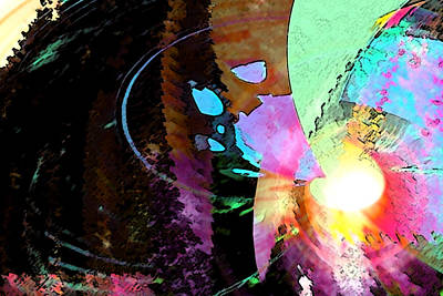 Abstract Other Worlds Digital Art - Other World Entry by James Estes