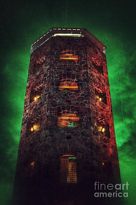 Photograph - Otherworldly Enger Tower by Mark David Zahn