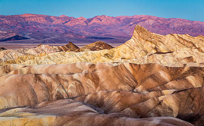Photograph - Otherworldly Zabriskie At Dawn by Pierre Leclerc Photography
