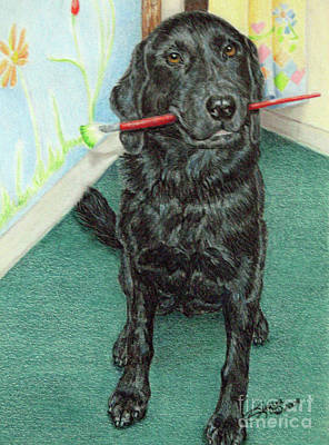 Otis-se Art Print by Beverly Fuqua