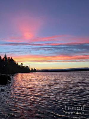 Photograph - Otso Point Sunset by Sean Griffin