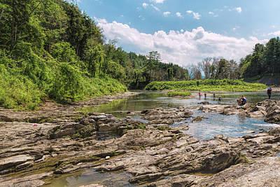 Photograph - Ottauquechee River Rocky Flats by John M Bailey