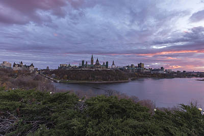 Photograph - Ottawa At Sunset by Josef Pittner