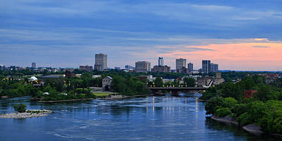 Photograph - Ottawa River At Dusk by Tatiana Travelways